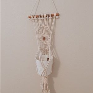 Wall hanging Macramé plant holder